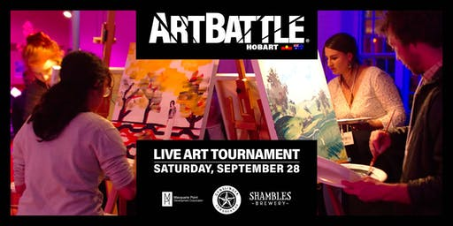 Art Battle Hobart - 28 September, 2019