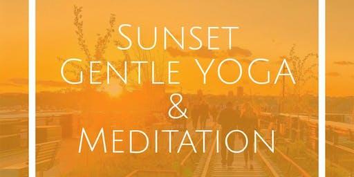 Gentle Gloria Yoga Flow and Graceful Meditation @ Sunset