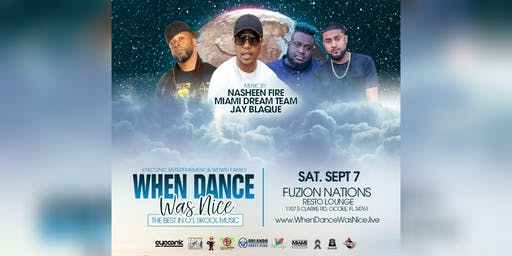 When Dance Was Nice - Sept.7th