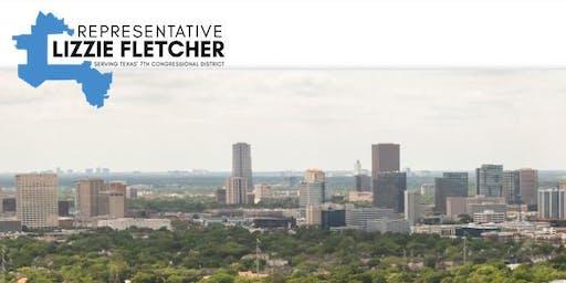 Congresswoman Lizzie Fletcher to speak at SN 31 meeting- 8/26