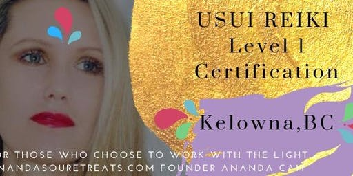 Reiki Level 1 Certification with Ananda Cait