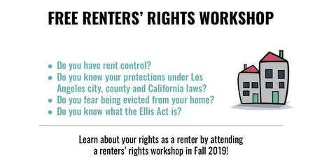 Renters' Rights Workshop tickets