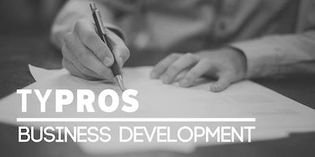 TYPROS Business Development: September Meeting tickets