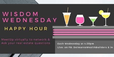 Wisdom Wednesday Happy Hour (Virtual) tickets