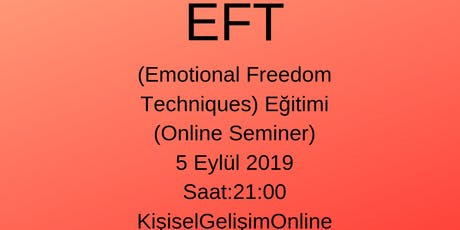 EFT (Emotional Freedom Techniques) Nedir? tickets