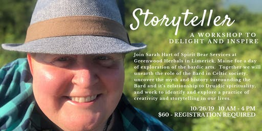 Storyteller:  An Event to Delight and Inspire