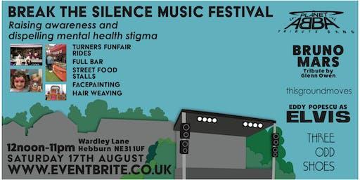 Break the Silence Outdoor  Live Music  Festival