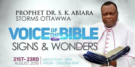 Voice of the Bible  tickets