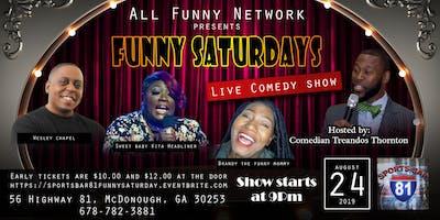 Saturday comedy show(Sports bar 81)