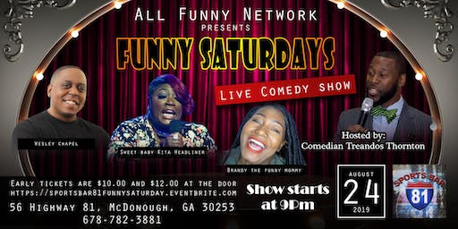 Saturday comedy show(Sports bar 81)