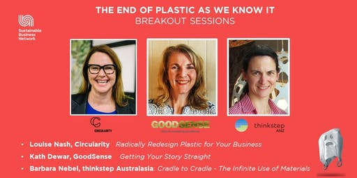 Circular Economy: Redesigning, Marketing and Cradle to Cradle® - Three Separate Workshops