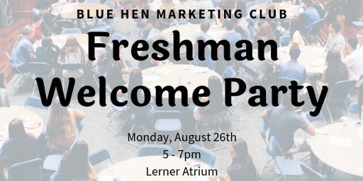 BHMC Freshman Welcome Party