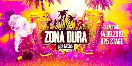 ZONA DURA - DOS AREAS // SA 14.09.19 // RP5 Stage Tickets