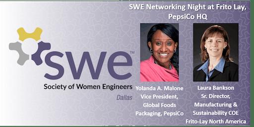 Dallas SWE Networking Night at Frito Lay, PepsiCo HQ