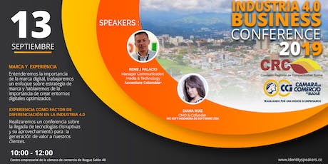 Industria 4.0 Business Conference tickets