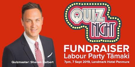 Quiz Night! – Labour Party Tāmaki Fundraiser tickets