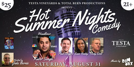 Hot Summer Nights Comedy 2.0!