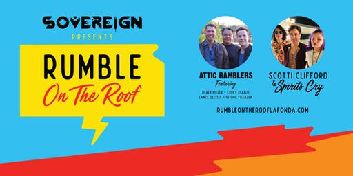 Rumble On The Roof  At La Fonda On The Plaza PRE SALE