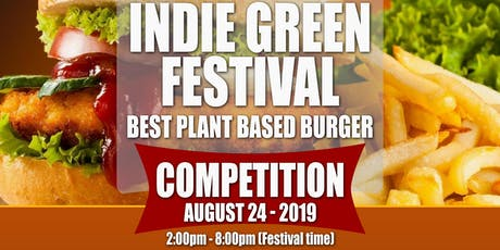 Indie Green Plant-Based Burger Competition tickets
