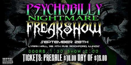 Psychobilly Nightmare Freakshow 2019 tickets