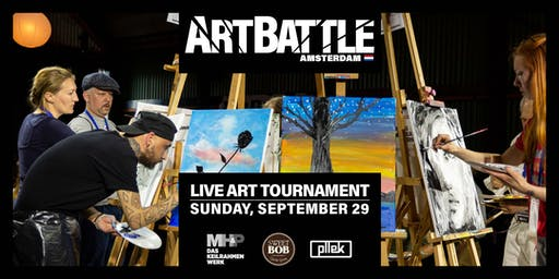 Art Battle Amsterdam - 29 September, 2019