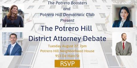 The Potrero District Attorney Debate tickets