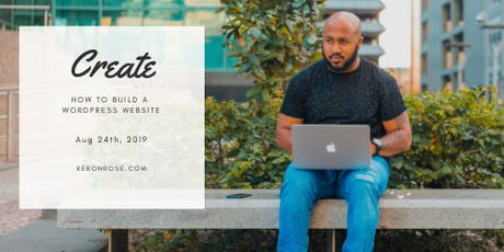 Create Workshop - How To Build a Wordpress Site tickets