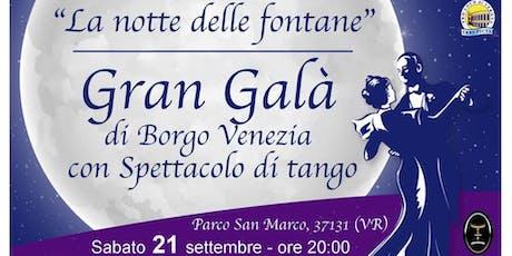 Gran Galà di Borgo Venezia tickets