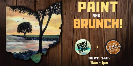 Edgewater Sunset | Paint + Brunch at Two Bucks! tickets