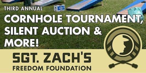 3rd Annual Sgt. Zach's Freedom Foundation Cornhole Tournament