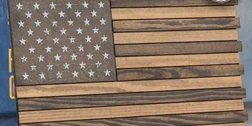 build your own wooden flag