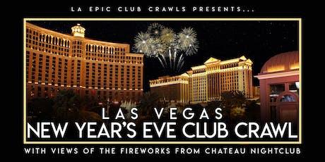 2020 Las Vegas New Years Eve Club Crawl at Chateau Nightclub tickets