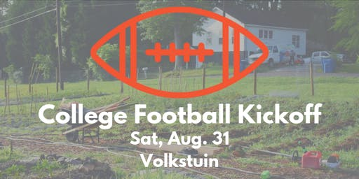 College Football Kickoff