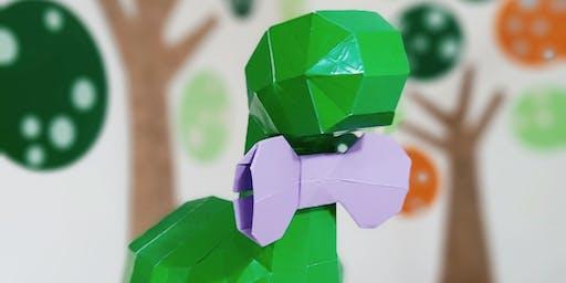Workshop - Escultura 3D em papel