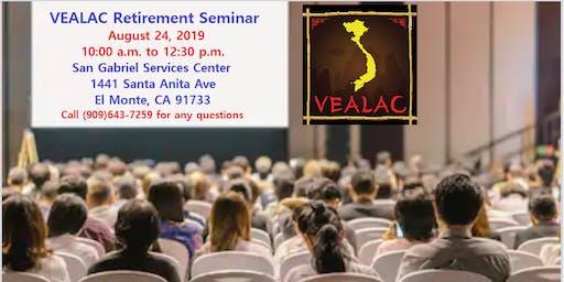 VEALAC Retirement Seminar