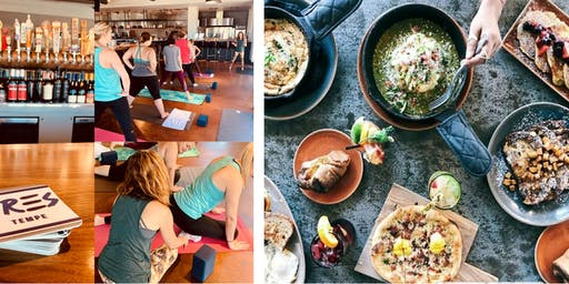 Yoga and Brunch at TRES Tempe (Mediterranean) with Yoga's Arc