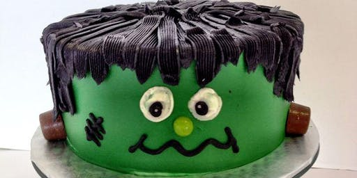 Frankenstein Cake Decorating Class