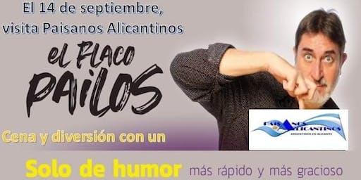 14 de septiembre, El Flaco Pailos visita Alicante