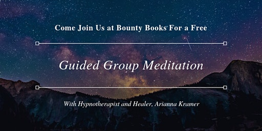 Weekly Evening Group Meditation and Discussion