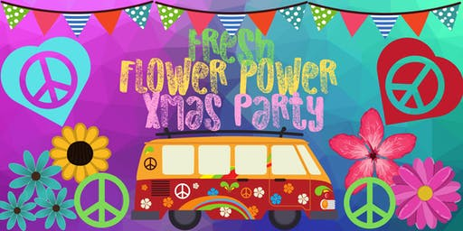 Fresh Networking Flower Power Christmas Party - Members Only