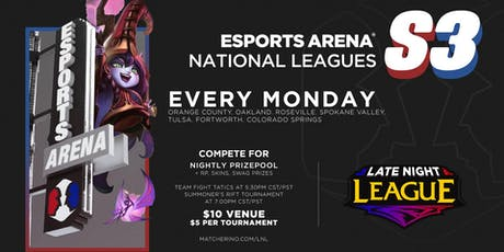 Late Night League tickets
