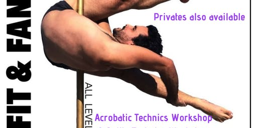 Acrobatic Techniques Workshop w/ Xavier Ortiz