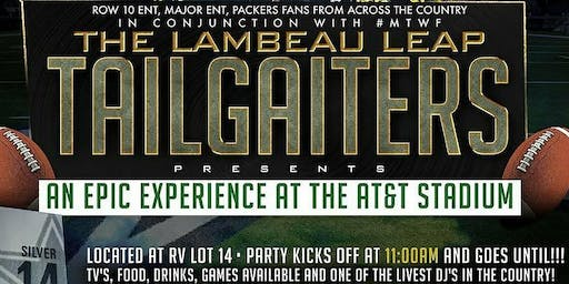 "The ""Lambeau Leap"" Green Packers vs Cowboys Tailgate 2019"