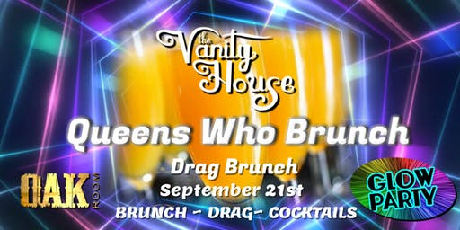 Queens Who Brunch Glow Party