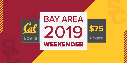 USC @ Cal 2019 Football Weekender Tickets on Sale!