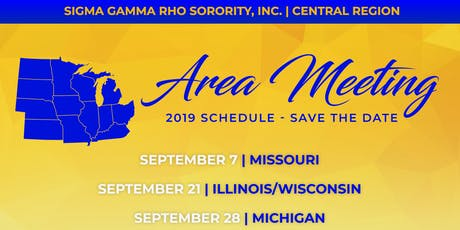 2019 Central Region Area Meetings tickets