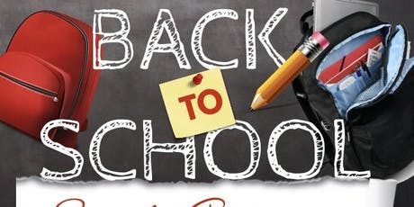 Free Back to school supplies giveaway  tickets
