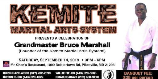 Grandmaster Bruce Marshall Celebration