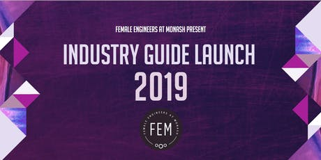 FEM- Industry Guide Launch tickets