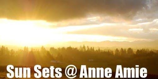 Sun Sets @ Anne Amie Vineyards